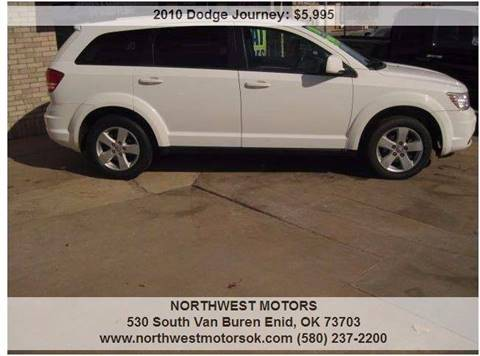 2010 Dodge Journey for sale at NORTHWEST MOTORS in Enid OK