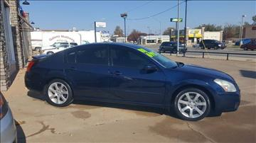 2008 Nissan Maxima for sale at NORTHWEST MOTORS in Enid OK