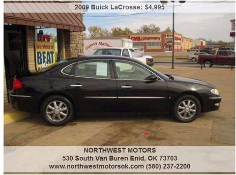 2009 Buick LaCrosse for sale at NORTHWEST MOTORS in Enid OK