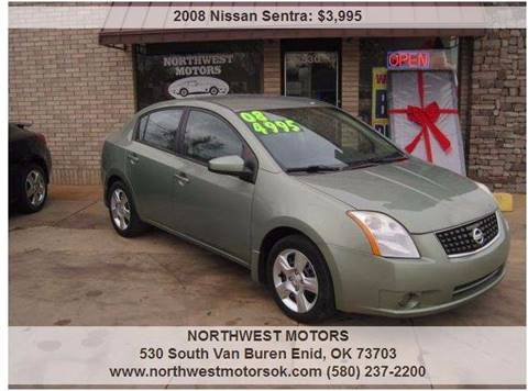 2008 Nissan Sentra for sale at NORTHWEST MOTORS in Enid OK