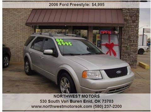 2006 Ford Freestyle for sale at NORTHWEST MOTORS in Enid OK