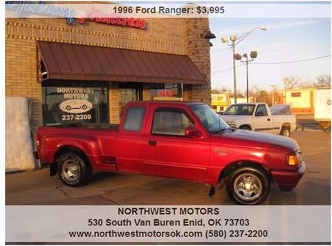 1996 Ford Ranger for sale at NORTHWEST MOTORS in Enid OK