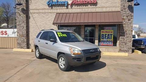 2006 Kia Sportage for sale at NORTHWEST MOTORS in Enid OK