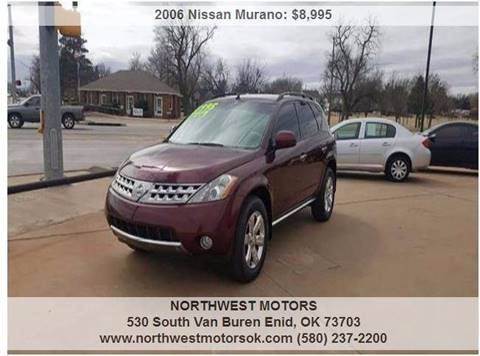 2006 Nissan Murano for sale at NORTHWEST MOTORS in Enid OK