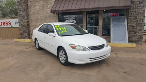 2002 Toyota Camry for sale at NORTHWEST MOTORS in Enid OK