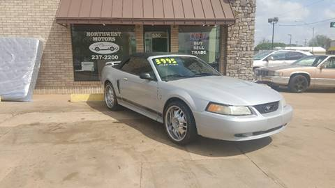 2003 Ford Mustang for sale at NORTHWEST MOTORS in Enid OK