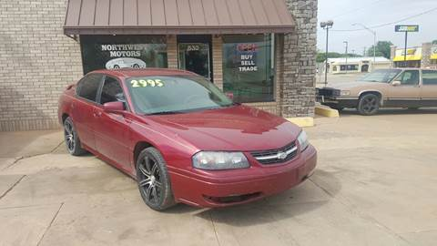 2005 Chevrolet Impala for sale at NORTHWEST MOTORS in Enid OK