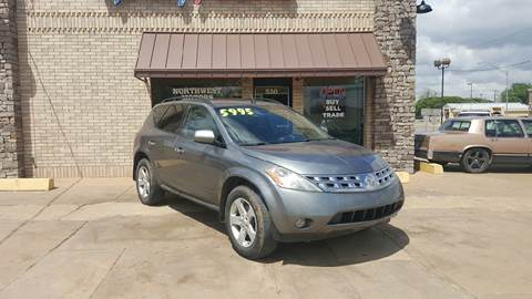 2005 Nissan Murano for sale at NORTHWEST MOTORS in Enid OK