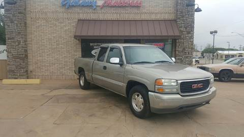 2002 GMC Sierra 1500 for sale at NORTHWEST MOTORS in Enid OK