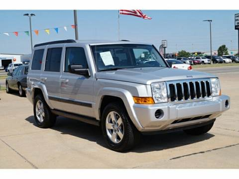 2008 Jeep Commander for sale at NORTHWEST MOTORS in Enid OK