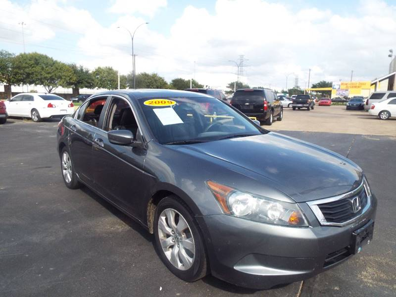 2009 Honda Accord For Sale At Pancho Xavier Auto Sales In Arlington TX