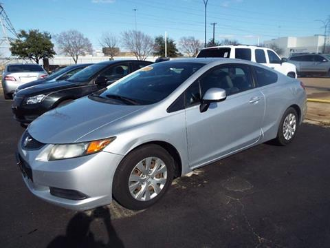 2012 Honda Civic for sale in Arlington, TX