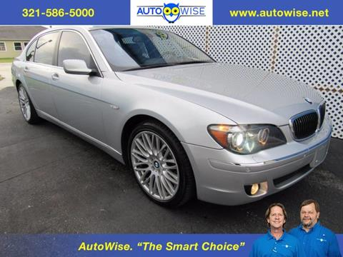 2006 BMW 7 Series for sale in Melbourne FL
