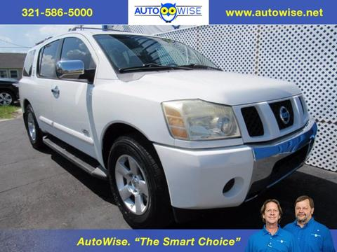 2006 Nissan Armada for sale in Melbourne FL