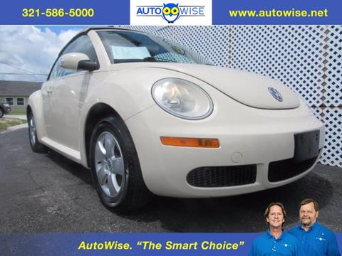 2008 Volkswagen New Beetle for sale in Melbourne FL