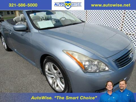 2010 Infiniti G37 Convertible for sale in Melbourne, FL