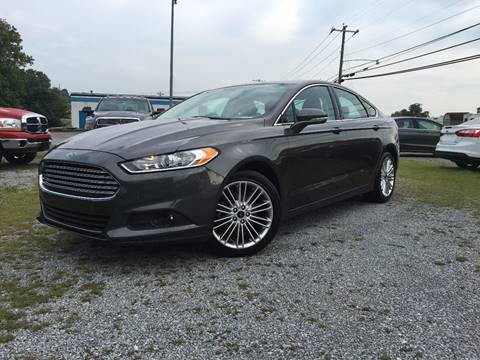 2016 Ford Fusion for sale in Athens, TN