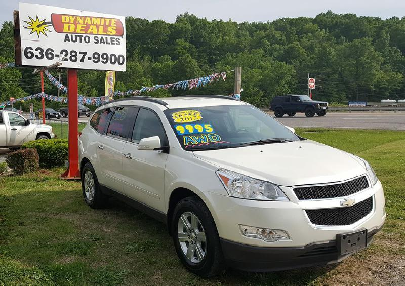 2012 Chevrolet Traverse for sale at Dynamite Deals LLC in Arnold MO
