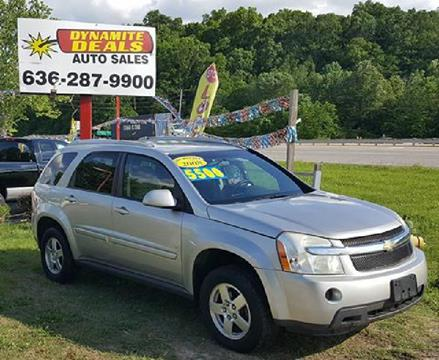 2008 Chevrolet Equinox for sale at Dynamite Deals LLC - Dynamite Deals in High Ridge MO