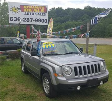 2015 Jeep Patriot for sale at Dynamite Deals LLC - Dynamite Deals in High Ridge MO