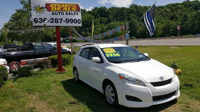 2013 Toyota Matrix for sale at Dynamite Deals LLC in Arnold MO