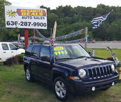 2014 Jeep Patriot for sale at Dynamite Deals LLC - Dynamite Deals in High Ridge MO