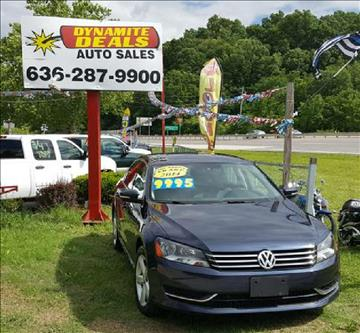 2014 Volkswagen Passat for sale at Dynamite Deals LLC - Dynamite Deals in High Ridge MO