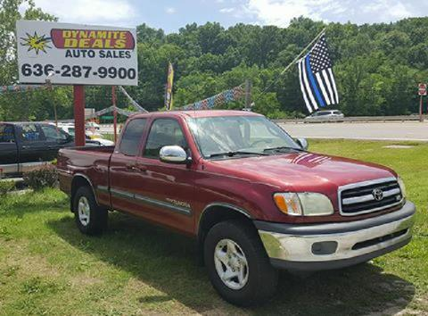 2002 Toyota Tundra for sale at Dynamite Deals LLC - Dynamite Deals in High Ridge MO