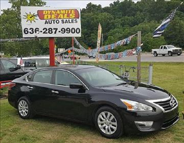 2013 Nissan Altima for sale at Dynamite Deals LLC - Dynamite Deals in High Ridge MO