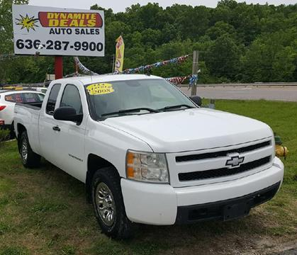 2008 Chevrolet Silverado 1500 for sale at Dynamite Deals LLC in Arnold MO