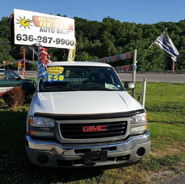 2006 GMC Sierra 1500 for sale at Dynamite Deals LLC - Dynamite Deals in High Ridge MO