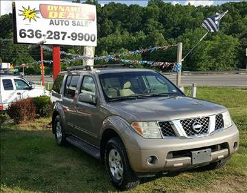 2007 Nissan Pathfinder for sale at Dynamite Deals LLC - Dynamite Deals in High Ridge MO
