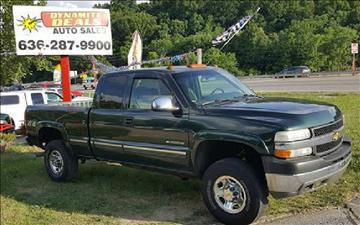 2001 Chevrolet Silverado 2500HD for sale at Dynamite Deals LLC in Arnold MO