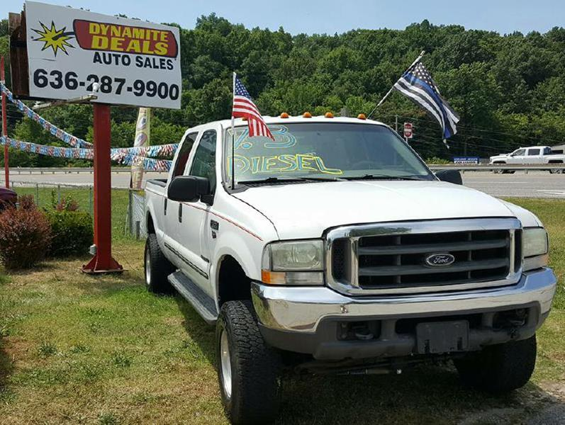 2000 Ford F-350 Super Duty for sale at Dynamite Deals LLC in Arnold MO
