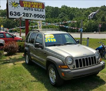 2007 Jeep Liberty for sale at Dynamite Deals LLC in Arnold MO