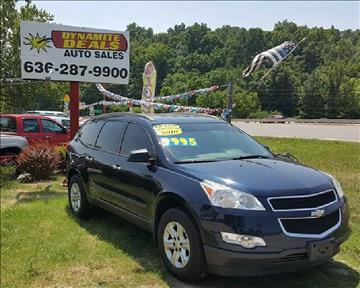 2010 Chevrolet Traverse for sale at Dynamite Deals LLC in Arnold MO