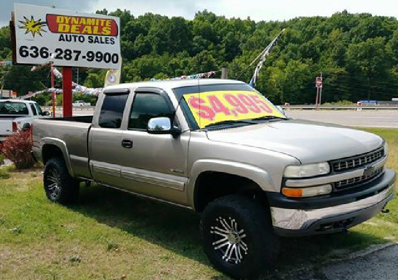 1999 Chevrolet Silverado 1500 for sale at Dynamite Deals LLC in Arnold MO