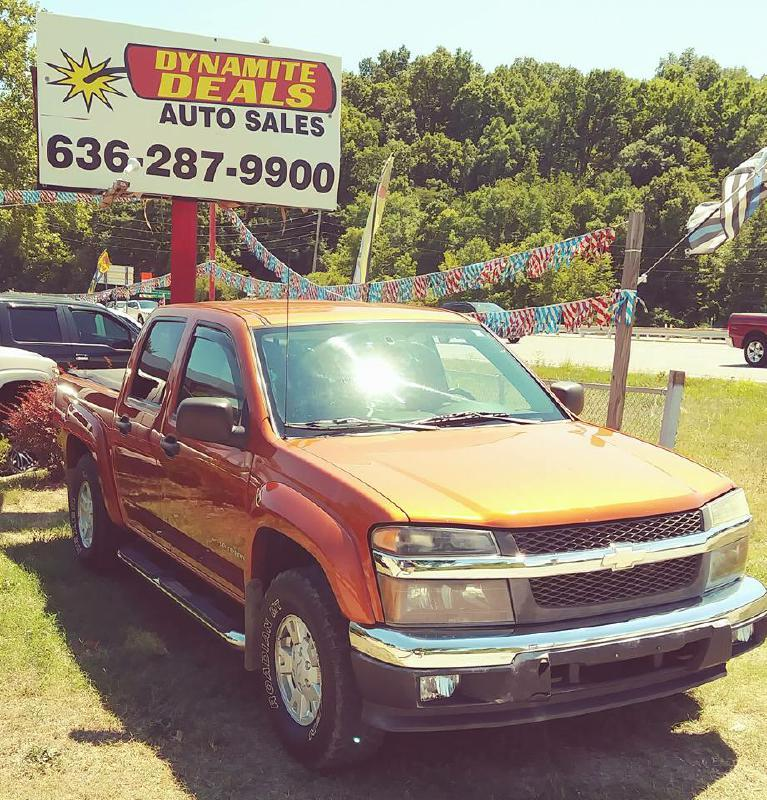 2004 Chevrolet Colorado for sale at Dynamite Deals LLC in Arnold MO