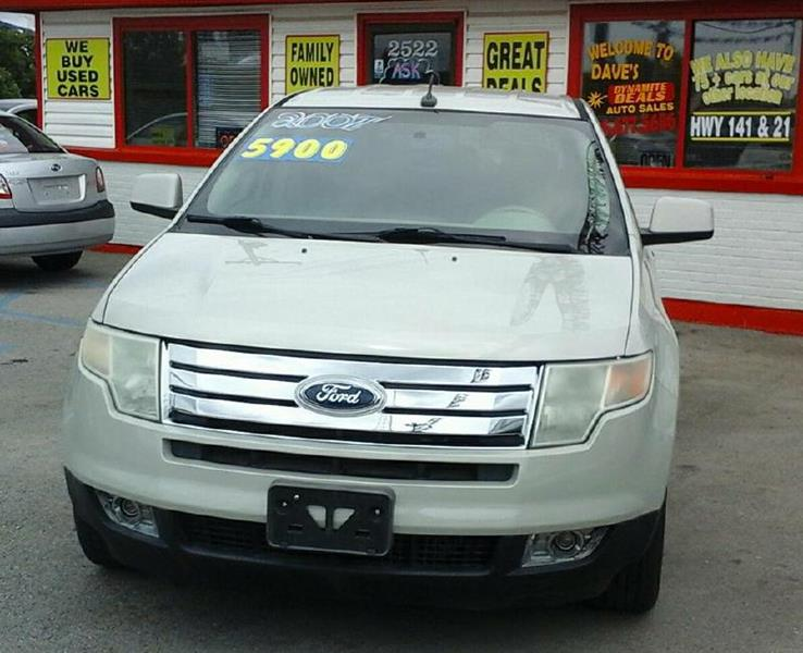 2007 Ford Edge for sale at Dynamite Deals LLC - Dynamite Deals in High Ridge MO
