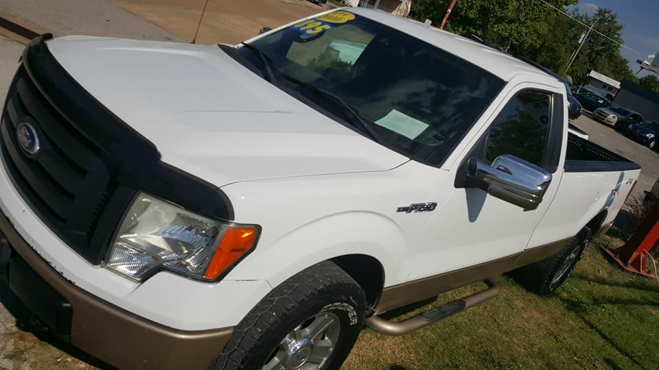 2010 Ford F-150 for sale at Dynamite Deals LLC in Arnold MO