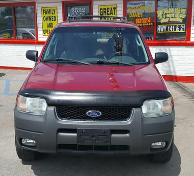 2004 Ford Escape for sale at Dynamite Deals LLC in Arnold MO
