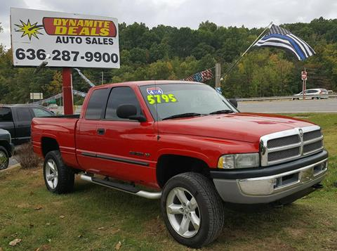 2001 Dodge Ram Pickup 1500 for sale at Dynamite Deals LLC in Arnold MO