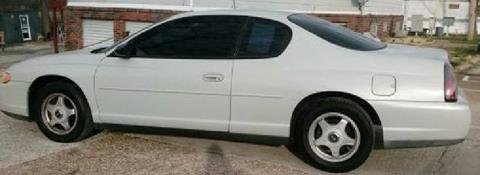 2003 Chevrolet Monte Carlo for sale at Dynamite Deals LLC - Dynamite Deals in High Ridge MO