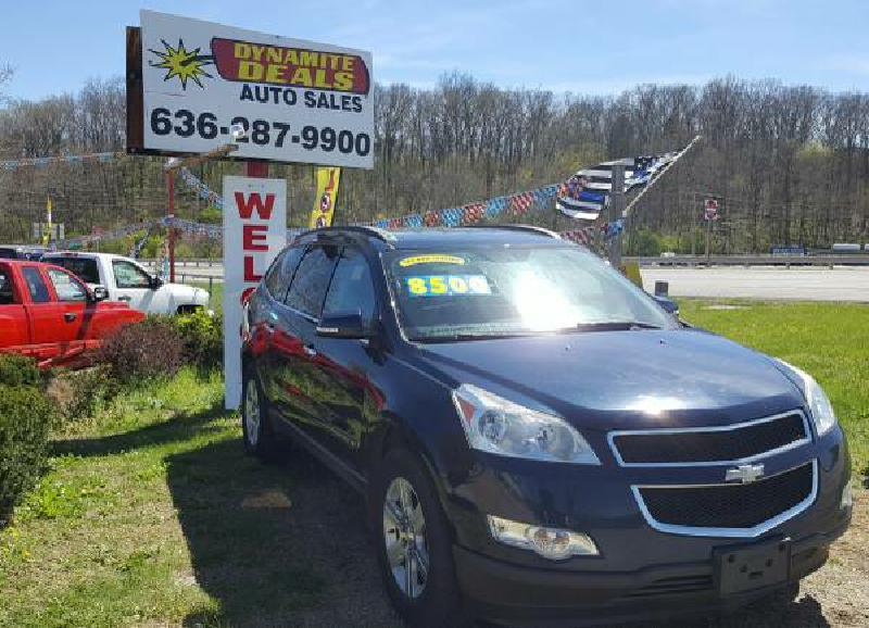 2009 Chevrolet Traverse for sale at Dynamite Deals LLC in Arnold MO