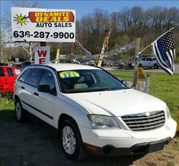 2006 Chrysler Pacifica for sale at Dynamite Deals LLC - Dynamite Deals in High Ridge MO