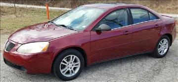 2005 Pontiac G6 for sale at Dynamite Deals LLC in Arnold MO