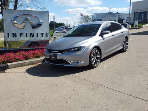 2015 Chrysler 200 for sale in Centerville, OH