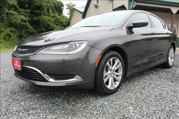 2016 Chrysler 200 for sale in Finksburg, MD