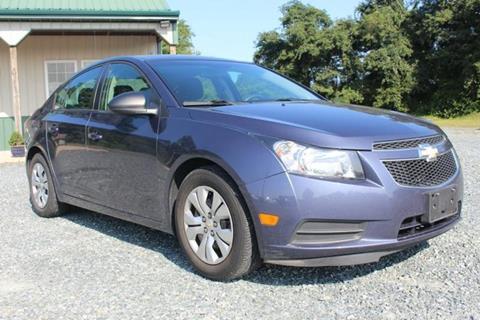 2014 Chevrolet Cruze for sale in Finksburg, MD