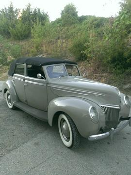 1939 Ford Deluxe for sale in Finksburg MD